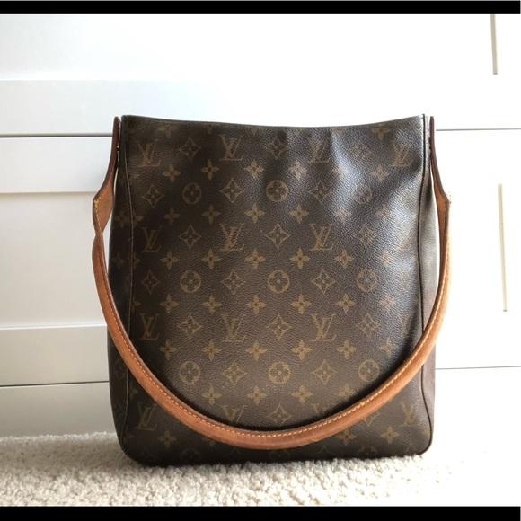 4dcb7678a076 Louis Vuitton Handbags - Louis Vuitton Monogram Looping GM Shoulder Bag